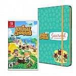 Animal Crossing: New Horizons – Nintendo Switch + Journal Bundle $59.99