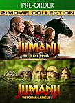 Jumanji 2-Movie Collection [4k UHD Digital] $15.99