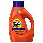 37oz Tide Liquid Detergent $2.99