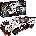 LEGO Speed Champions Nissan GT-R NISMO 76896 (298 Pieces) $16