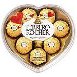 Ferrero Rocher Chocolate Heart Gift Box3.5oz $2.59 (org $7) & More + Free Shipping
