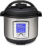 Instant Pot Duo Evo Plus 8Qt Electric Pressure Cooker, (8 QT), Stainless Steel/Black $109.95