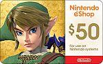 $50 Nintendo Gift Card + Bonus $5 eBay Gift Card $50