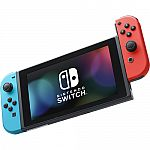 Nintendo Switch Console Neon Red/Neon Blue Joy-Con $299