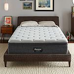 Beautyrest Silver BRS900 13 in. Full Plush Euro Top Queen Mattress with 9 in. Box Spring $687 and more