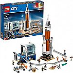 LEGO City Space Deep Space Rocket & Launch Control 60228 Building Kit (837 Pieces) $80 (Reg. $100)