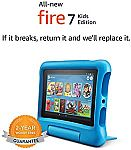 Amazon Fire 7 Kids Edition Tablet $59.99