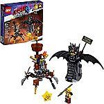 LEGO MOVIE 2 Battle Ready Batman and MetalBeard 70836 (168 Pieces) $10 (50% Off)