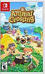 Animal Crossing: New Horizons Nintendo Switch Game $49.94 (Pre-order)