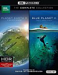 Planet Earth II & Blue Planet II Collection (4K UHD Blu-ray) $20