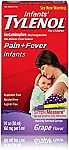 Infants' Tylenol Acetaminophen Liquid Medicine, Grape, 1 fl. oz $4.50