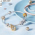 60% off Pandora Jewelry