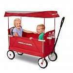 Radio Flyer 3-In-1 EZ Folding Wagon with Canopy $79
