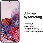 128GB Samsung Galaxy S20 Smartphone (Factory Unlocked) $800