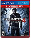 Uncharted 4: A Thief's End Hits - PlayStation 4 $9.99
