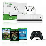 Xbox One S 1TB All Digital Edition + Extra Wireless Controller $169.99
