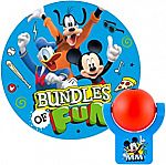 Disney Mickey Mouse Roadsters Automatic LED Night Light $5.60 + Free Shipping