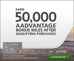Citi AAdvantage® Platinum Select® Mastercard
