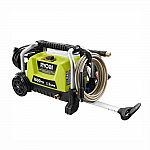 Power Washer sale: RYOBI 1,800 psi 1.2 GPM Wheeled Electric Pressure Washer $99 and more
