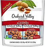 8-count 1 oz. ORCHARD VALLEY HARVEST Whole Natural Almonds $2.82