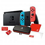 Nintendo Switch Bundle with 12 Month Online Family Plan and Case $349.99