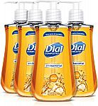 4-Count Dial Antibacterial Liquid Hand Soap, Gold, 9.375 Ounce $6.45