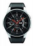 Samsung SM-R800NZSAXAR Galaxy Watch (46mm) Silver (Seller Refurbished) $126.65 and more