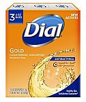 3-Count Dial Antibacterial Deodorant Soap $1.74, 30 Count for $14.85