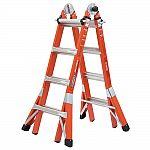 Werner 18ft 300lbs Multi-Purpose Fiberglass PRO Ladder $269 + Free Shipping
