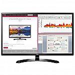 "LG 32"" Class Full HD IPS Monitor $130"