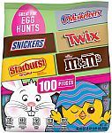 Easter Candy M&M'S, Snickers, Twix, 3 Musketeers & Starburst Chocolate (32.45oz) $9.98