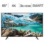 "Samsung 65"" UN65RU710DFXZA 4K UHD LED LCD TV $449.99"