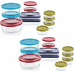 Kohls Cardholders: 2-Sets of 22-pc Pyrex Simply Store Food Storage Set $35 + Free Shipping