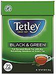 72-Ct Tetley Tea Bags (Black and Green) $2.80