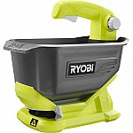 RYOBI ONE+ 1 Gal. 18-Volt Lithium-Ion Spreader (Tool only) $35.98