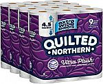 36-Count Quilted Northern Ultra Plush Toilet Paper $29.99