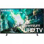"Samsung UN65RU8000 65"" RU8000 LED Smart 4K UHD TV (2019 Model) $699"
