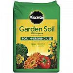 Miracle-Gro Garden Soil All Purpose 0.75-cu ft Garden Soil $2 (In-Store Only)