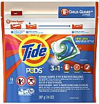 16-Count Tide Pods Liquid Detergent Pacs $3 & More + Free Shipping