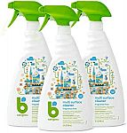 3-Count Babyganics Multi Surface Cleaner $12.10