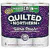 9-Count Quilted Northern Ultra Plush Double Rolls $3.99