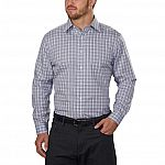 Kirkland Signature Men's Tailored Fit Dress Shirt (Plaid) from $9.97 + Free Shipping