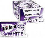Trident White Cool Rush Sugar Free Gum (144 Pieces) $2