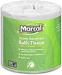48-Rolls Marcal 2-Ply Toilet Paper $26.52 + Free Shipping