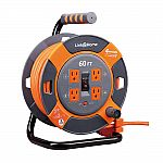 Link2Home Extension Cord Storage Reels 25-Ft $25, 60-Ft $46 & more