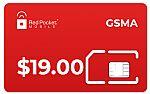 Redpocket Unlimited Talk & Text, 8GB data / month (GSMA/CDMAS)
