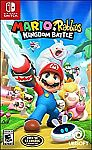 Mario + Rabbids: Kingdom Battle - Nintendo Switch $14.99