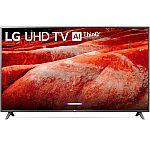 "LG 82"" Class 8070 Series 4K UHD Smart HDR TV w/AI ThinQ $1399"
