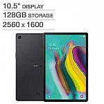 "Samsung Galaxy Tab S5e 10.5"" Wi-Fi Tablet 128GB + Bonus 128GB MicroSD Card $349.99"