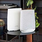 NETGEAR Orbi Voice Whole Home Mesh WiFi System, Built in Smart Speaker $179.99